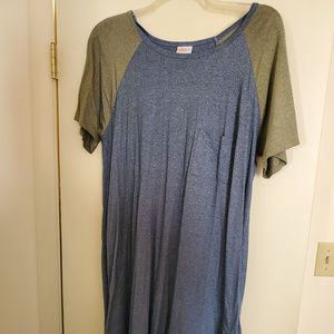 LuLaRoe Carly Tshirt Dress